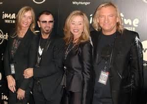 Joe Walsh and Marjorie Bach Barbara Ringo Starr