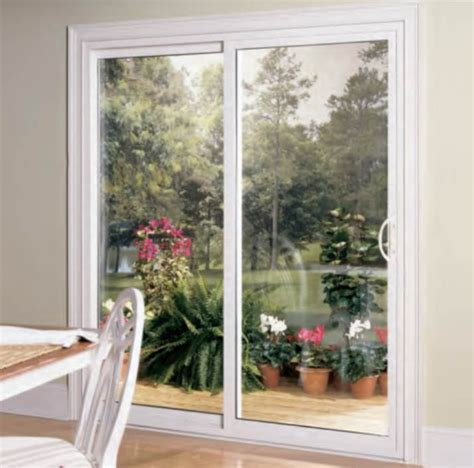 sliding patio door traditional by