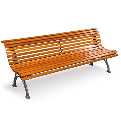 panchina in legno panchina napoli con listoni in legno
