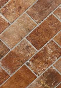 brick sunset 5 quot x 10 quot porcelain floor tile