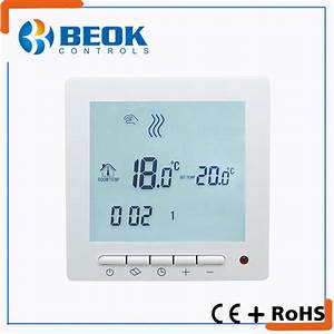 China Remote Control Floor Heating Thermostat Room