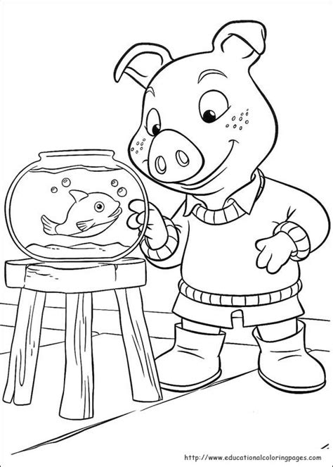jakers coloring pages educational fun kids coloring