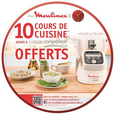 cours de cuisine chambery moulinex offre des cours de cuisine en ligne petit