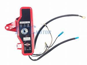 Honda Ignition Key Switch W   Keys Gx160 5 5hp Gx200 6 5hp
