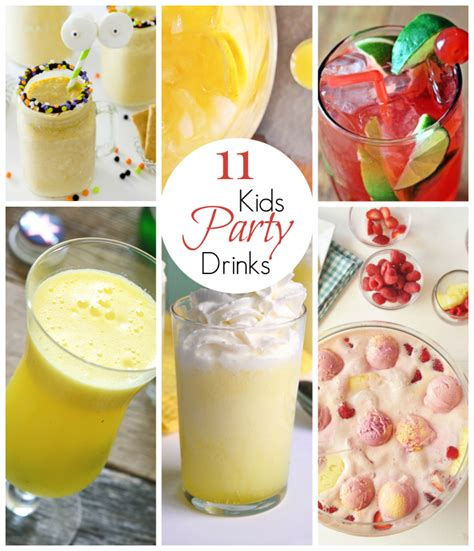 11 Amazing Kid Party Drinks  East Valley Mom Guide