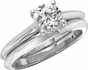flyerfit knife edge solitaire engagement ring 5137esolke With knife edge engagement ring with wedding band