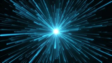 Animated Space Wallpaper Windows 10 - blue time travel looping animated background stock footage