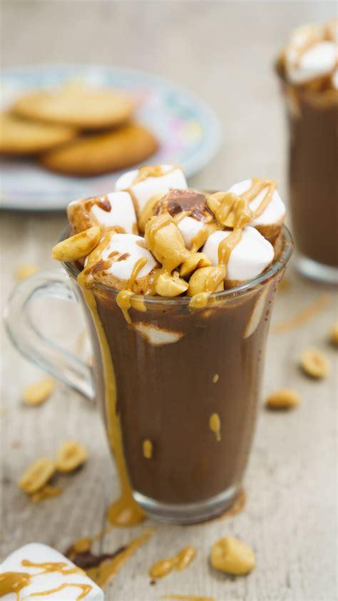 peanut butter hot chocolate  cookware geek