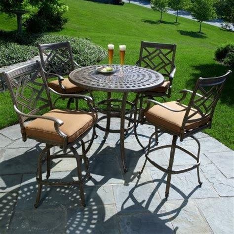 bar height patio dining sets patio design ideas
