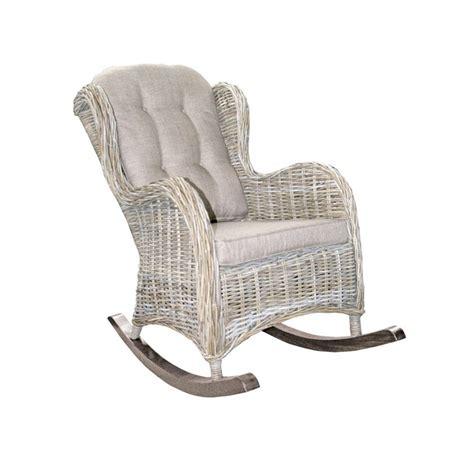 colonne meuble cuisine rocking chair en rotin enora achat fauteuil à bascule
