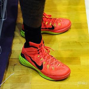 Kyrie Irving Wearing Nike Hyperdunk 2014 PE in China ...