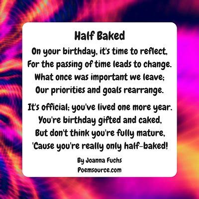 funny birthday poems give  giggle