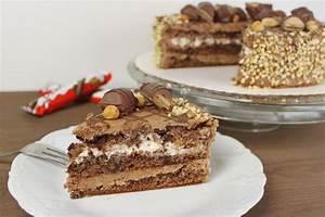 Kinder Bueno Torte backen Torten Rezepte absolute