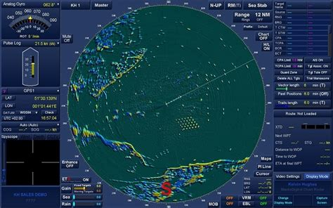 marine radars and their use in the shipping industry