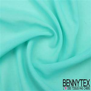 Vert D Eau Couleur : mousseline polyester cr p gamme kenza couleur vert d 39 eau ~ Mglfilm.com Idées de Décoration