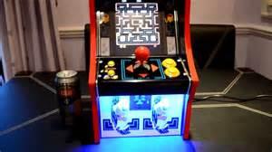 mini pac man arcade machine cabinet youtube