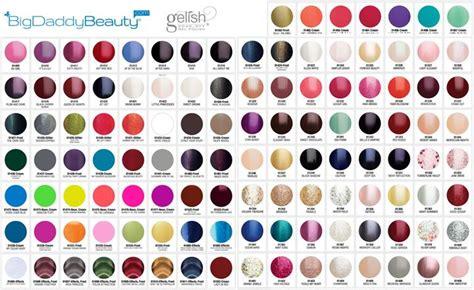gelish colors gelish swatches bigdaddybeautycom