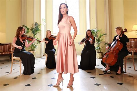 maria fitzgerald wedding singer dublin ireland church