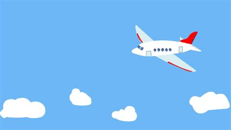 Animated Wallpaper For Air - airplane take animation 3 sequence