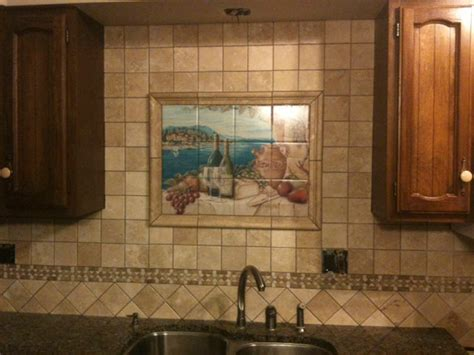 Rita Broughton  Kitchen Backsplash Tile Murals