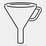 Embudo Funil Imbuto Quimica sketch template