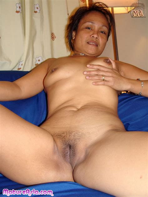 Tiny Mature Asian Filipino Granny Getting Naked And