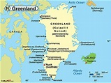Greenland Political Map by Maps.com from Maps.com -- World ...