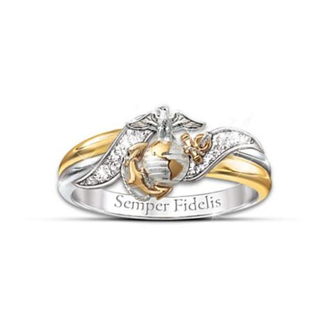 usmc diamond ring beautiful usmc emblem and my wedding
