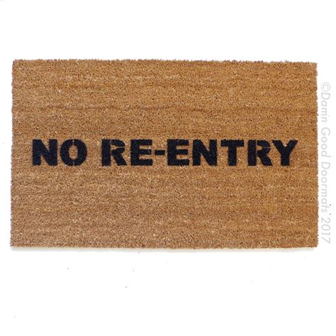 Novelty Doormat by We Don T Want Any Rude Novelty Doormat From