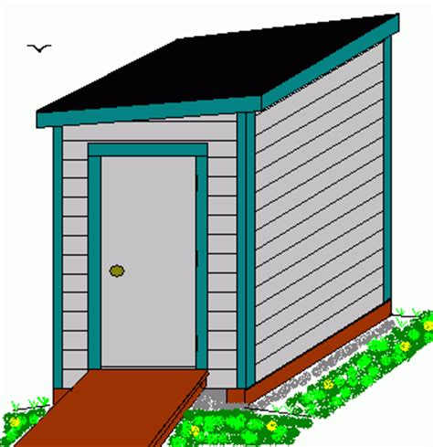 4 x 6 storage shed plans section sheds