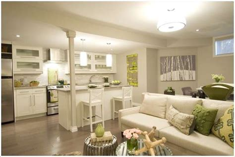 10 Amazing Ideas to Design Kitchen Combined with Living Room