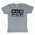 Sub Pop Records: Logo Shirt - Grey | Logo shirts, Shirts ...