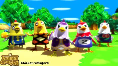 Mmd Model Chicken Villagers Download By Sab64 On Deviantart
