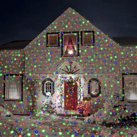 lights projector on house the lights hammacher schlemmer