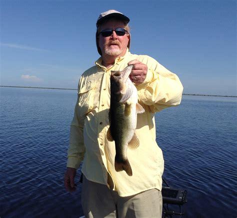 bass fishing marsh stick florida farm july okeechobee lake