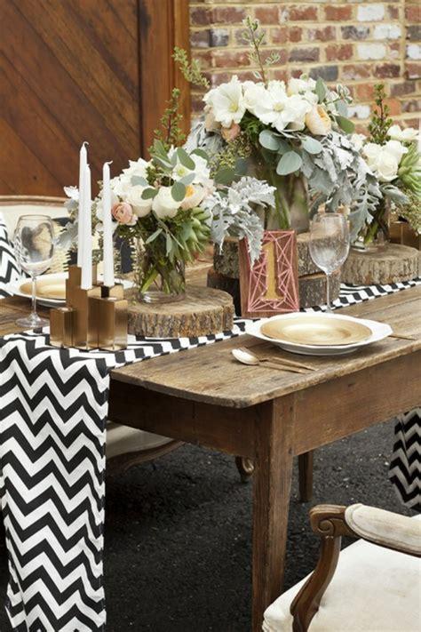 Tischdecke Selber Machen by Rustikale Hochzeitsdeko Selber Machen Warme Erdfarben