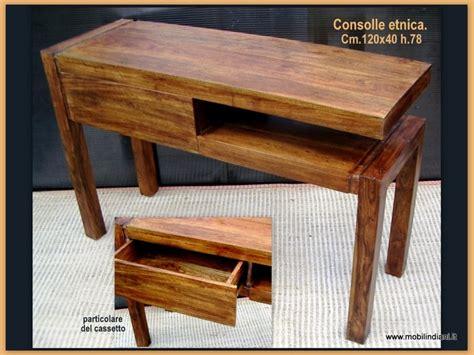 mobili etnici prato foto consolle etnica in legno massello de mobili etnici