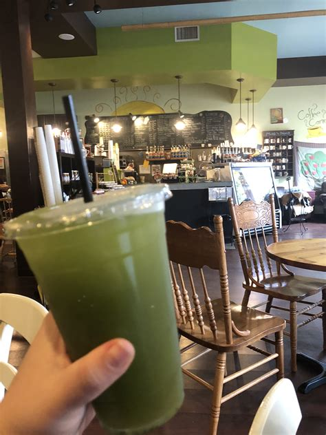 Browse the menu, view popular items, and track your order. Working from a Coffee Shop: The Treehouse Coffee Shop in Audubon
