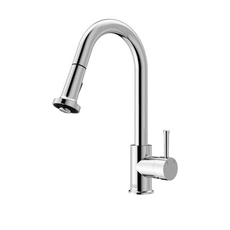 kitchen faucets with pull out spray vigo chrome pull out spray kitchen faucet the home depot