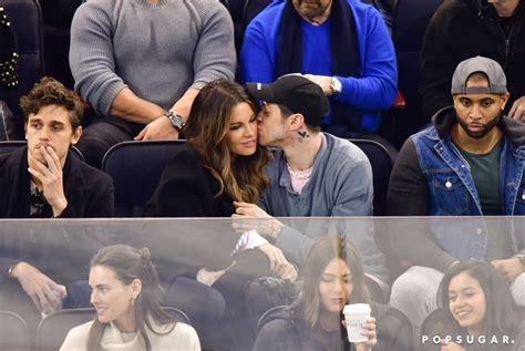 Pete Davidson and Kate Beckinsale Kissing at Hockey Game ...