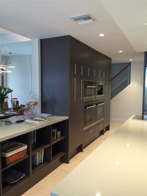 Miele Kitchen Cabinets by Miele Built In Wall Cabinets Grey Oak Contemporary Kitchen