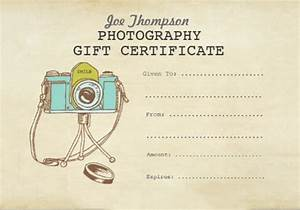 Photography Gift Certificate Template - 12+ Download ...