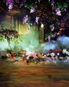 Garden Fairy Backdrops Photography