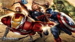 Avengers HD Wallpapers 1080p - WallpaperSafari