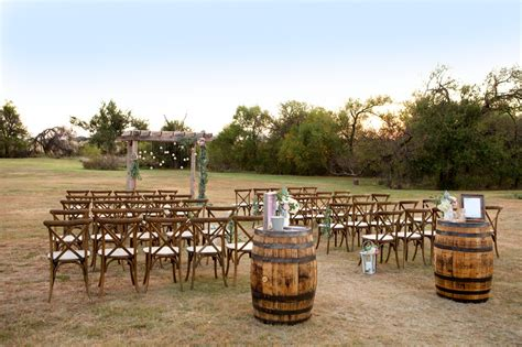 rustic outdoor wedding ceremony affordable diy wedding ideas