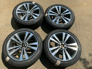 Run flat tires are tires on which you can continue driving after a puncture. Set of OEM Mercedes Benz S Class Rims & Pirelli Winter Run Flat Tires 2224011302 | eBay
