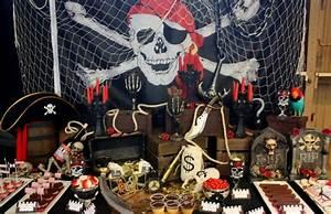 Deco Anniversaire Pirate : f te th matique pirate l 39 abordage ~ Melissatoandfro.com Idées de Décoration