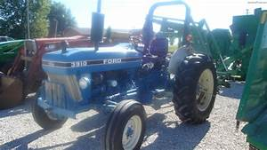 1989 Ford 3910 Tractors - Utility  40-100hp