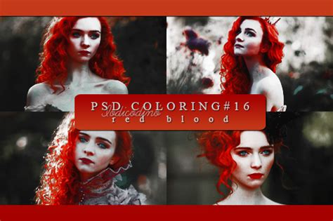 psd coloring  red blood  iodicodino  deviantart