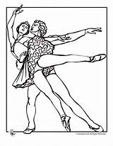 Ballet Coloring Pages Couple Amy Rose Nature Printer Send Button Special sketch template